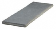 GRANITE STEP BULL NOSE BASALT BLACK 1200 x 400 x 50MM